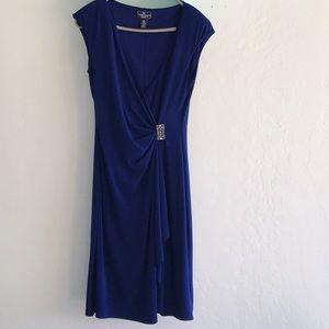 Ladies Blue Dress From Macy's size 8
